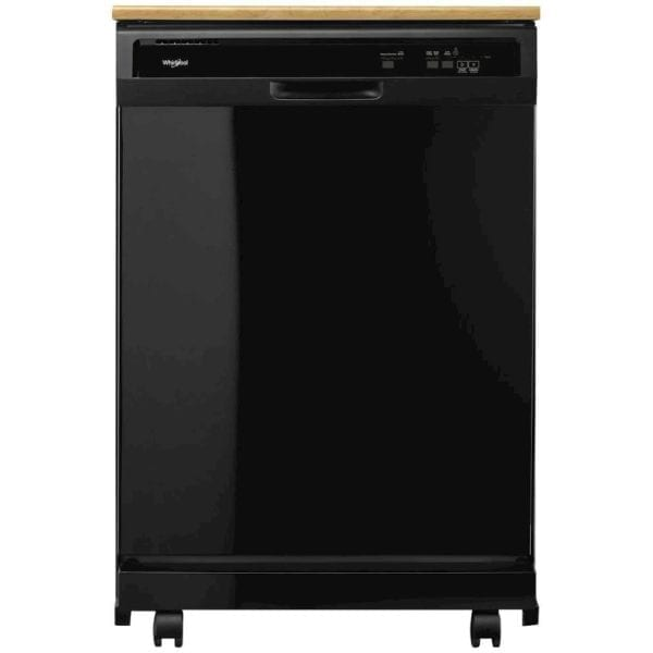 "24"" Front Control Tall Tub Portable Dishwasher"