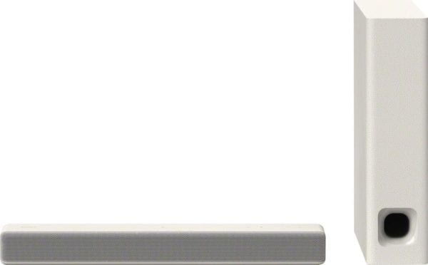 """2.1-Channel Soundbar System with 4.72"""" Wireless Subwoofer and Digital Amplifier"""