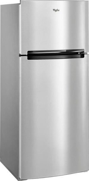 17.6 Cu. Ft. Top-Freezer Refrigerator Fingerprint Resistant Metallic Steel