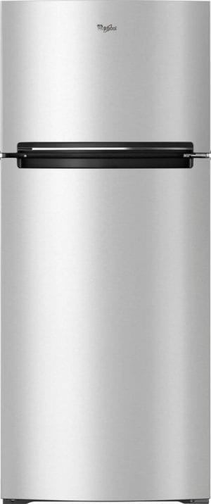 17.6 Cu. Ft. Top-Freezer Refrigerator Fingerprint Resistant Metallic Steel