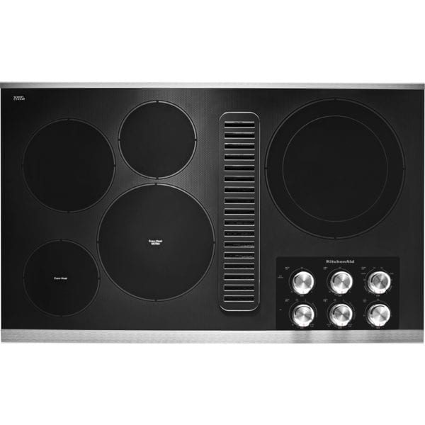"""36"""" Electric Cooktop Stainless steel"""