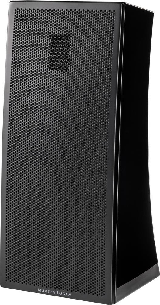 "Motion 4"" 75-Watt Passive 2-Way Bookshelf Speaker (Each) Gloss black"