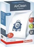 AirClean 3D Efficiency FJM Dustbags Lotus White