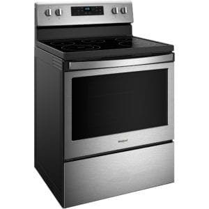5.3 Cu. Ft. Self-Cleaning Freestanding Electric Range Stainless steel