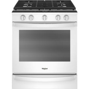 5.8 Cu. Ft. Self-Cleaning Slide-In Gas Convection Range