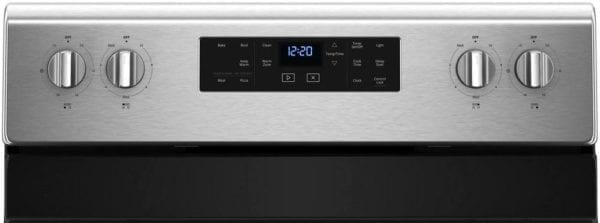 5.3 Cu. Ft. Self-Cleaning Freestanding Electric Range Fingerprint Resistant Stainless Steel