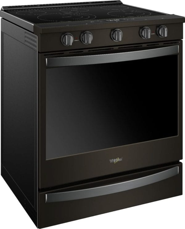 6.4 Cu. Ft. Self-Cleaning Slide-In Electric Convection Range