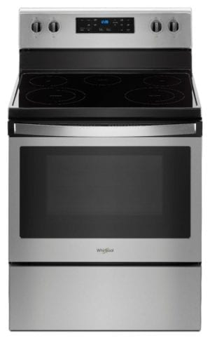 5.3 Cu. Ft. Freestanding Electric Range Stainless steel