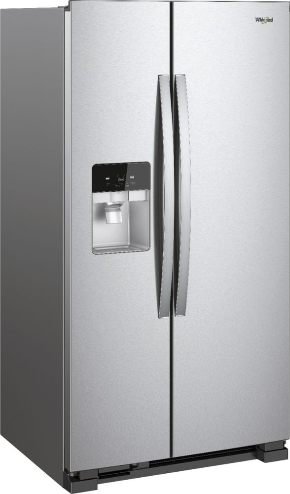 24.6 Cu. Ft. Side-by-Side Refrigerator Stainless steel