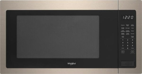 2.2 Cu. Ft. Microwave with Sensor Cooking Sunset bronze