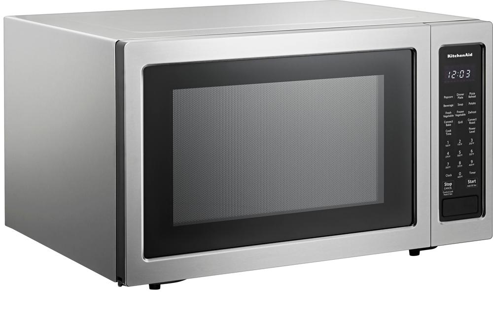 1.5 Cu. Ft. Convection Microwave with Sensor Cooking and Grilling Stainless steel