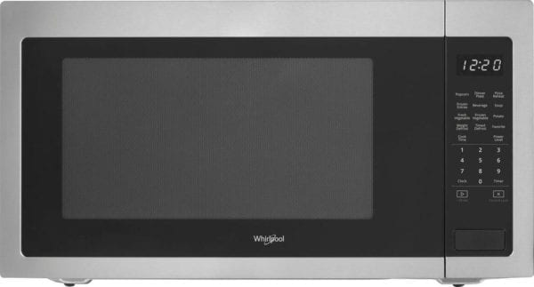 2.2 Cu. Ft. Microwave with Sensor Cooking Stainless steel
