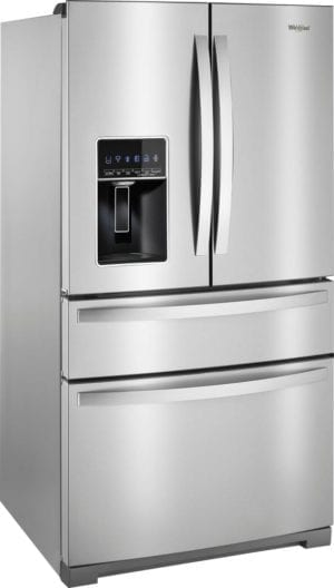 26.2 Cu. Ft. 4-Door French Door Refrigerator Stainless steel