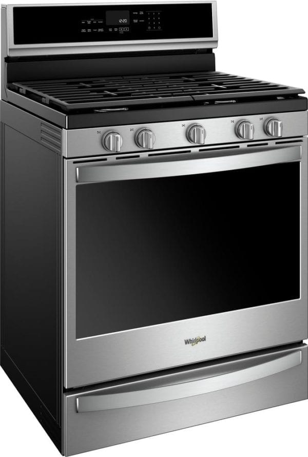 5.8 Cu. Ft. Self-Cleaning Freestanding Gas Convection Range Stainless steel