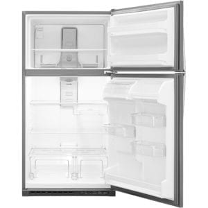 20.5 Cu. Ft. Top-Freezer Refrigerator Stainless steel