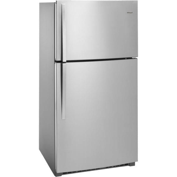 21.3 Cu. Ft. Top-Freezer Refrigerator Stainless steel