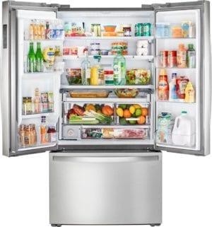 23.8 Cu. Ft. French Door Counter-Depth Refrigerator Finger Print Resistant Stainless Steel