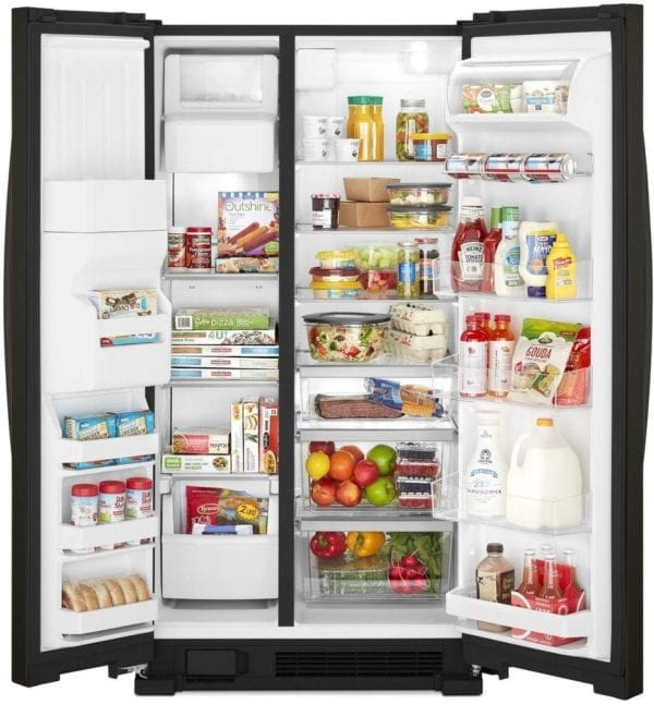 21.4 Cu. Ft. Side-by-Side Refrigerator