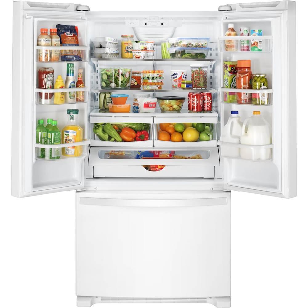 Kitchenaid Krff305ebs 25 2 Cu Ft French Door Refrigerator: 25.2 Cu. Ft. French Door Refrigerator