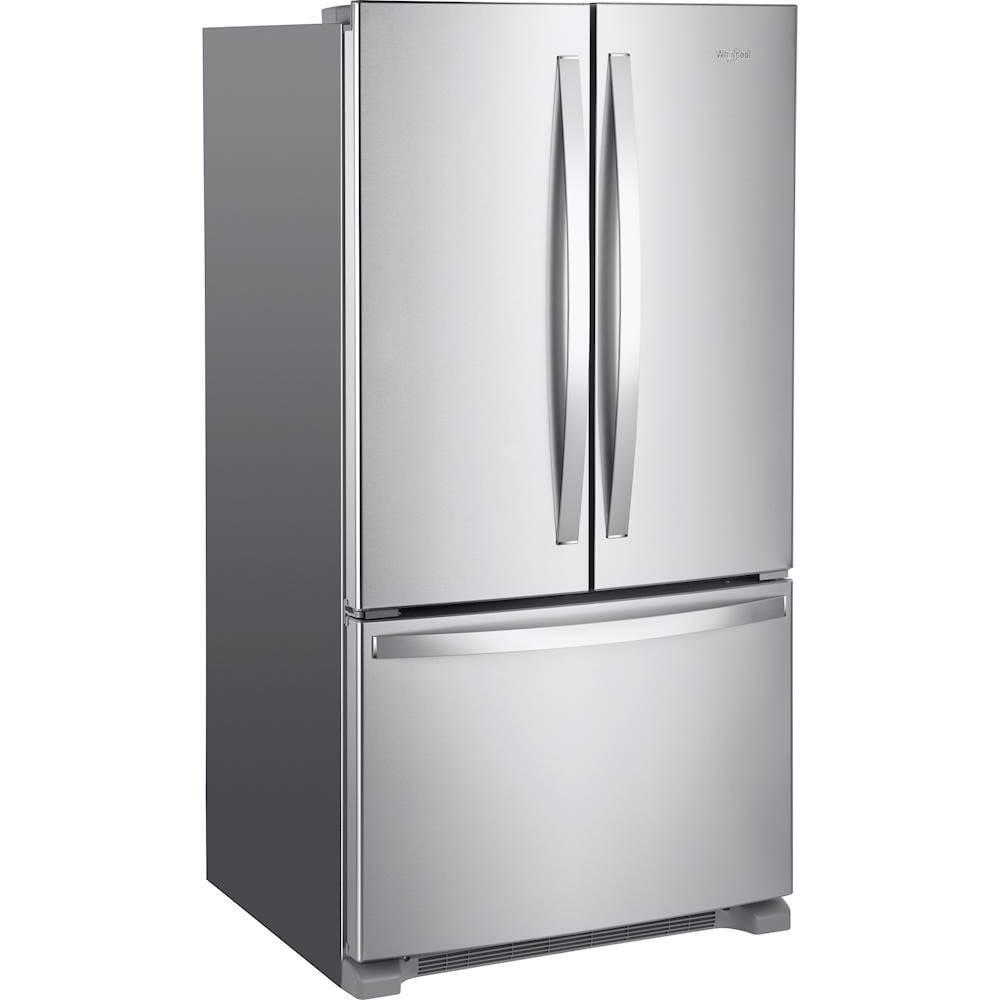 Kitchenaid Krff305ebs 25 2 Cu Ft French Door Refrigerator: 25.2 Cu. Ft. French Door Refrigerator Stainless Steel