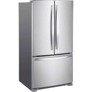20 Cu. Ft. French Door Counter-Depth Refrigerator Stainless steel