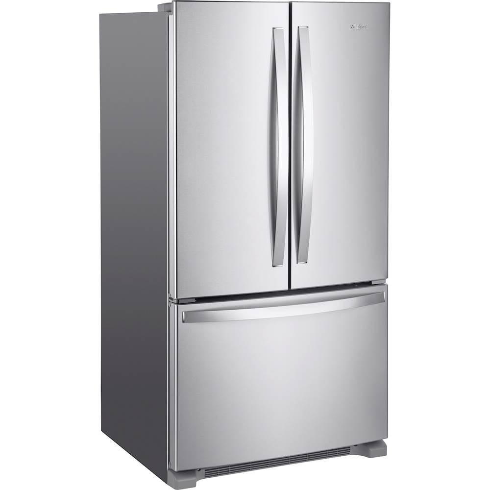 20 Cu Ft French Door Refrigerator: 20 Cu. Ft. French Door Counter-Depth Refrigerator Stainless Steel
