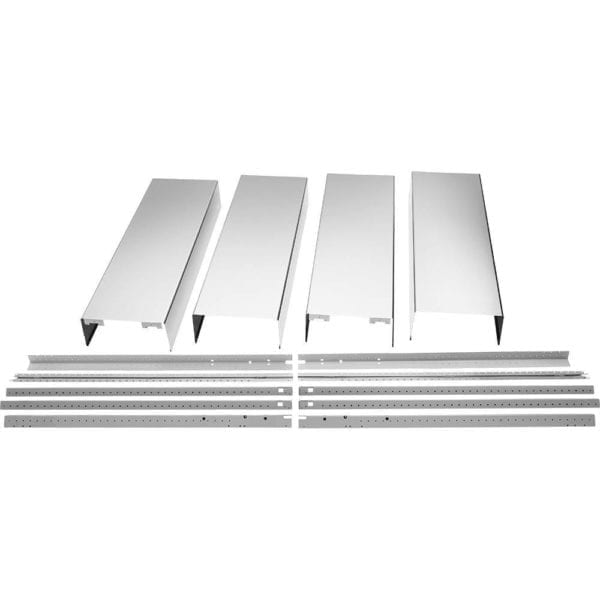 Chimney Extension Kit for Select Island Hoods Stainless steel
