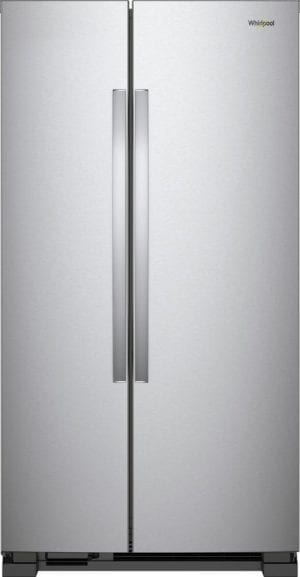 21.7 Cu. Ft. Side-by-Side Refrigerator Monochromatic Stainless Steel