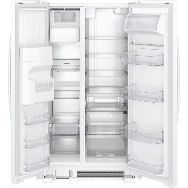 24.6 Cu. Ft. Side-by-Side Refrigerator with Water and Ice Dispenser