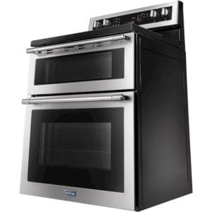 6.7 Cu. Ft. Self-Cleaning Freestanding Double Oven Electric Convection Range Fingerprint Resistant Stainless Steel
