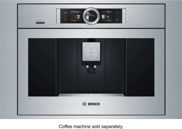 """30"""" Trim Kit for Bosch BCM8450UC Coffee Machine Stainless steel"""