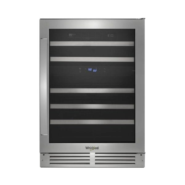 46-Bottle Wine Cooler Stainless steel