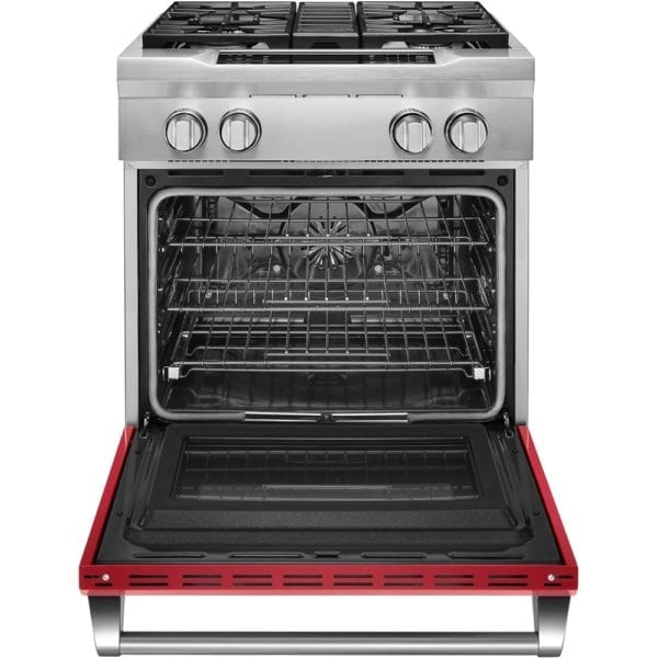 4.1 Cu. Ft. Self-Cleaning Freestanding Dual Fuel Convection Range