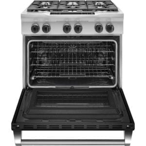 5.1 Cu. Ft. Self-Cleaning Freestanding Dual Fuel Convection Range