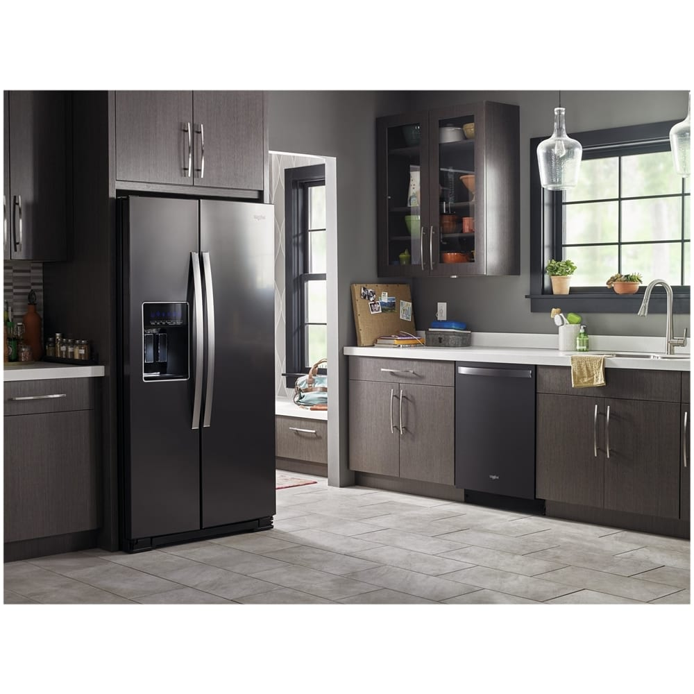 22 6 Cu Ft Side By Side Counter Depth: 20.6 Cu. Ft. Side-by-Side Counter-Depth Refrigerator