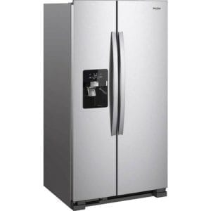 24.5 Cu. Ft. Side-by-Side Refrigerator Stainless steel
