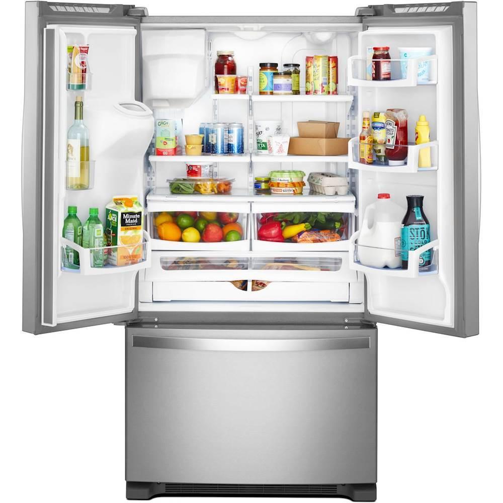 19 7 Cu Ft French Door Counter Depth Refrigerator