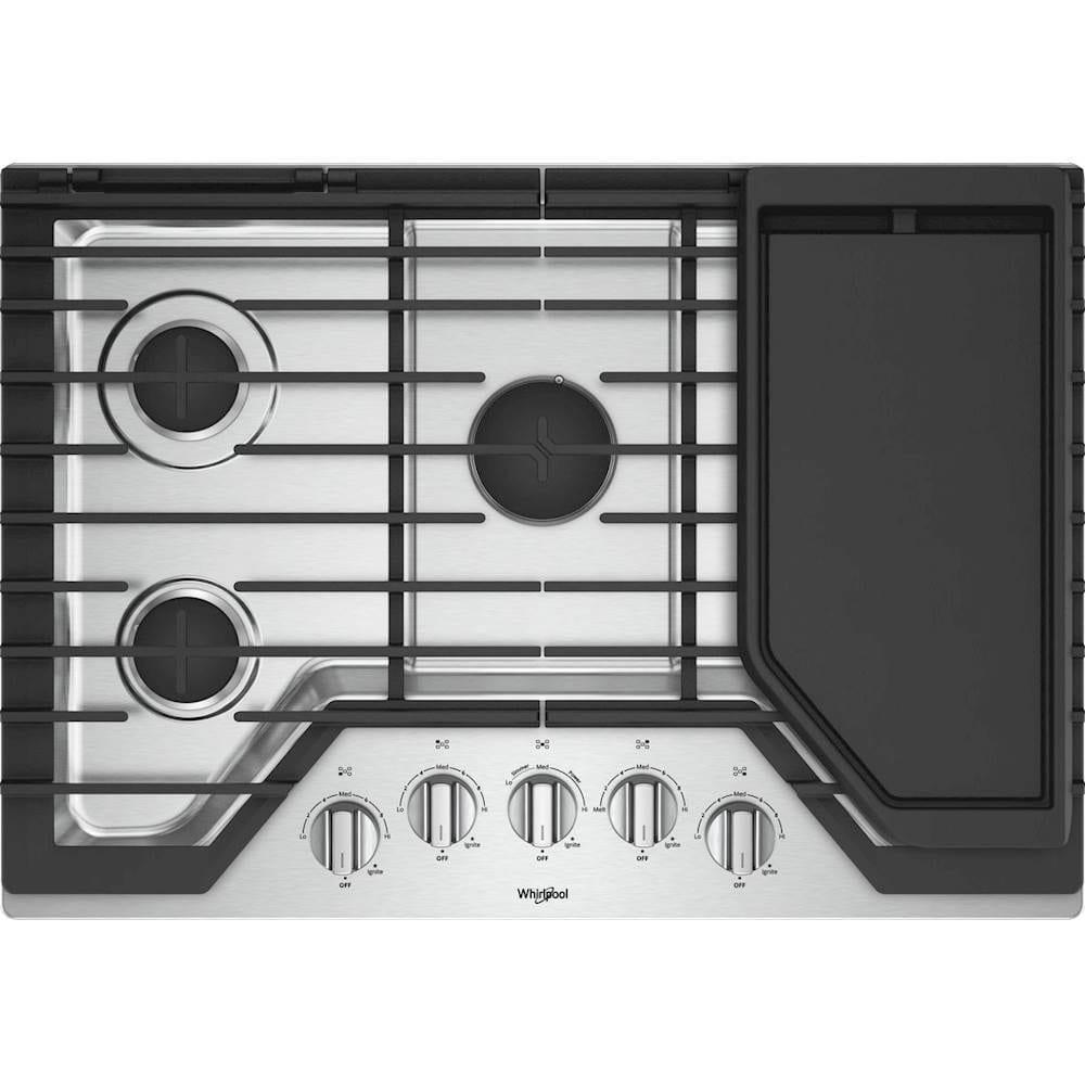 30 gas cooktop stainless steel. Black Bedroom Furniture Sets. Home Design Ideas