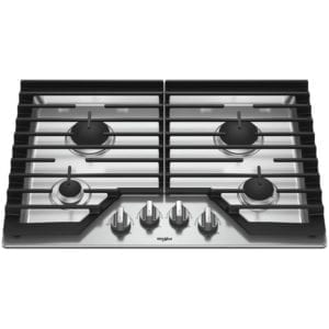 """30"""" Gas Cooktop Stainless steel"""