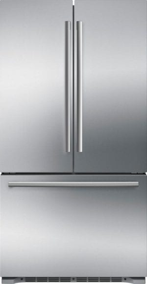800 Series 20.7 Cu. Ft. Bottom-Freezer Counter-Depth Refrigerator Stainless steel