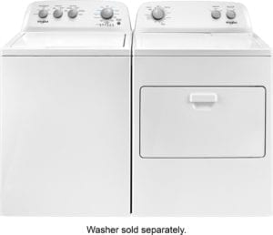 7 Cu. Ft. 12-Cycle Electric Dryer