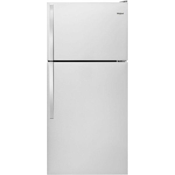14.3 Cu. Ft. Top-Freezer Refrigerator Monochromatic Stainless Steel