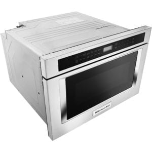 1.2 Cu. Ft. Built-In Microwave Drawer Stainless steel