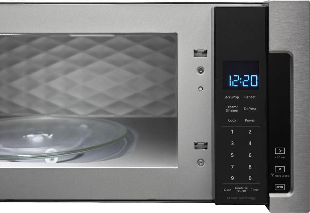 1 1 Cu Ft Low Profile Over The Range Microwave Hood