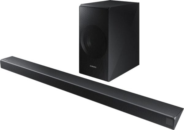 """3.1-Channel Soundbar System with 6-1/2"""" Wireless Subwoofer and Digital Amplifier"""