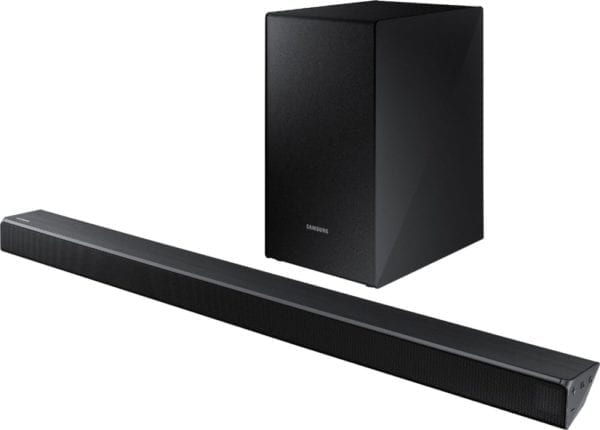 "2.1-Channel Soundbar System with 6-1/2"" Wireless Subwoofer and Digital Amplifier"