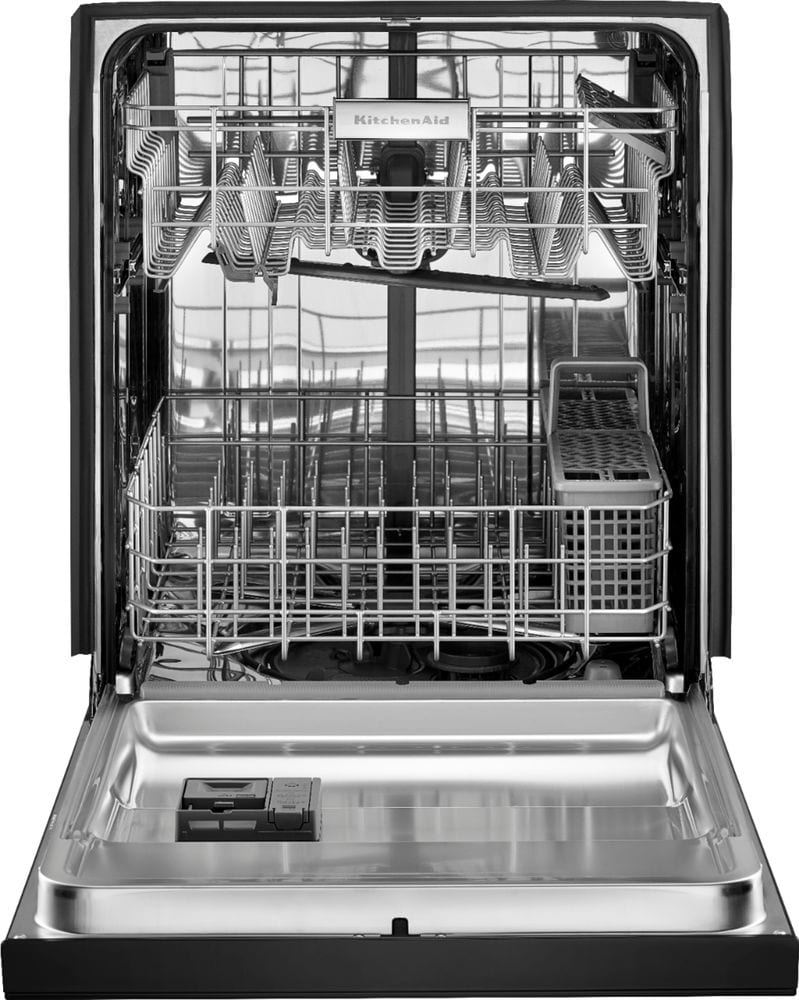 24 front control tall tub built in dishwasher with - Portable dishwasher stainless steel exterior ...