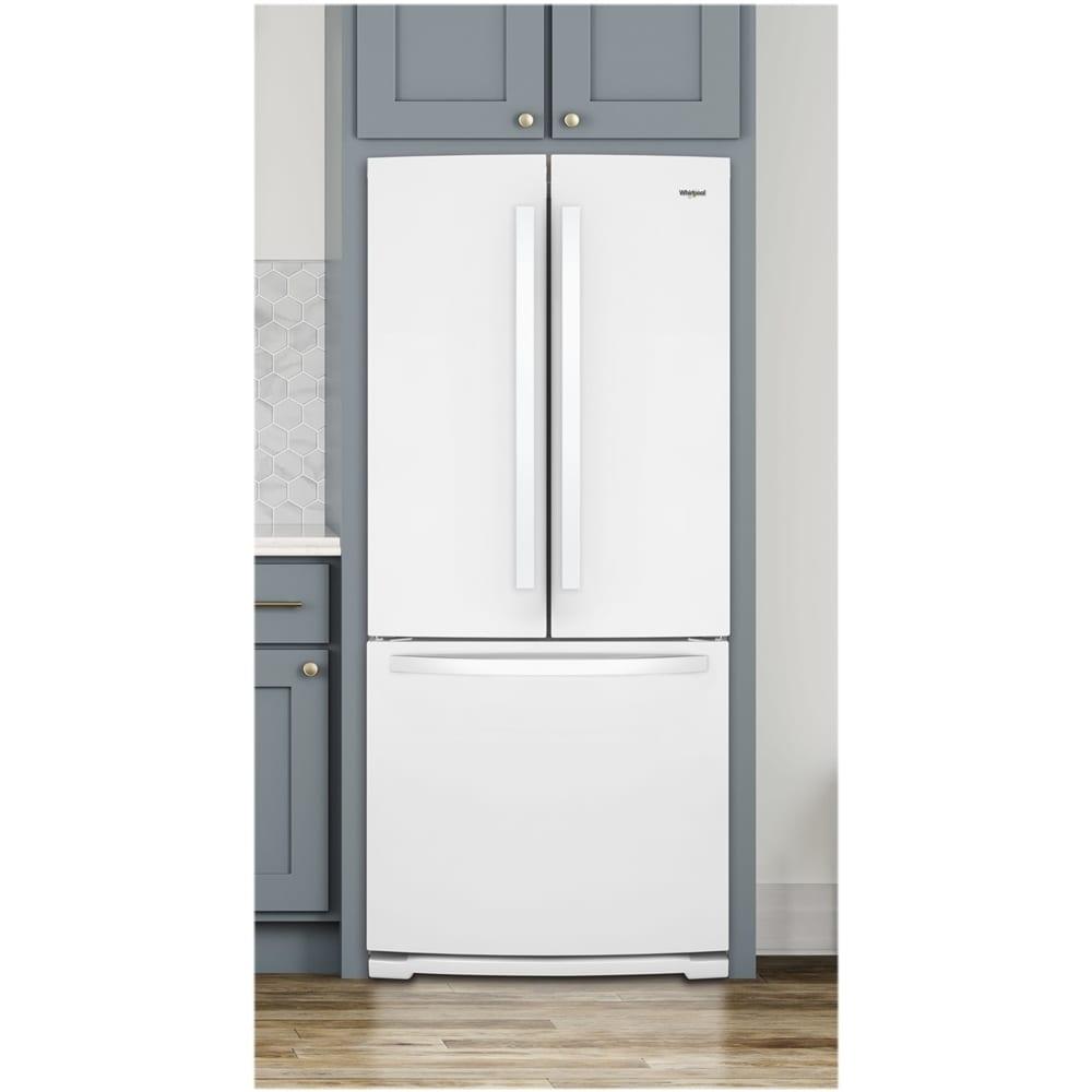 19 7 Cu Ft French Door Refrigerator