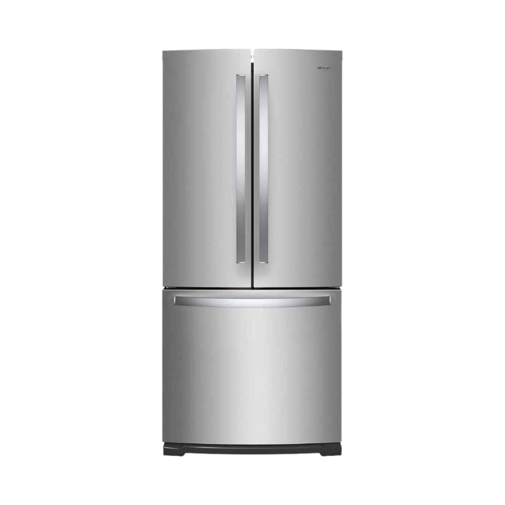 19 7 Cu Ft French Door Refrigerator Stainless Steel