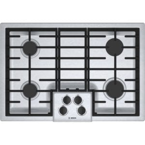 "31"" Gas Cooktop Stainless steel"